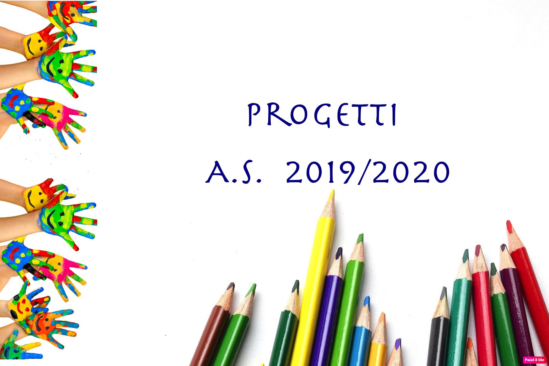Progetti 2019/2020
